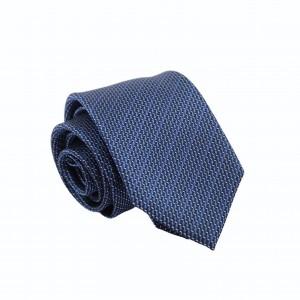 Μεταξωτή Γραβάτα Μπλε Με Σχέδιο 7.5κ.