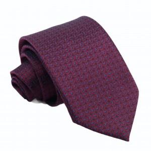 Γραβάτα Μπορντό με σχέδιο 7.5κ.