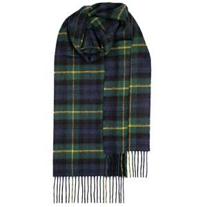 Μάλλινο Κασκόλ Καρό Scotland Gordon  Modern Unisex Lochcarron of Scotland