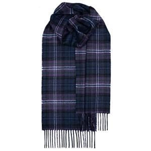 Μάλλινο Κασκόλ Καρό Scotland Forever Modern Unisex Lochcarron of Scotland
