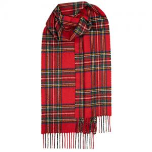 Μάλλινο Κασκόλ Καρό Stewart Royal Modern Unisex Lochcarron of Scotland