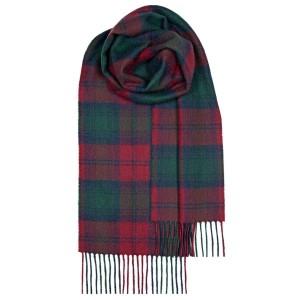 Μάλλινο Κασκόλ Καρό Lindsay Modern Unisex Lochcarron of Scotland