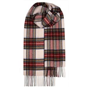 Μάλλινο Κασκόλ Καρό Stewart Dress Modern Unisex Lochcarron of Scotland