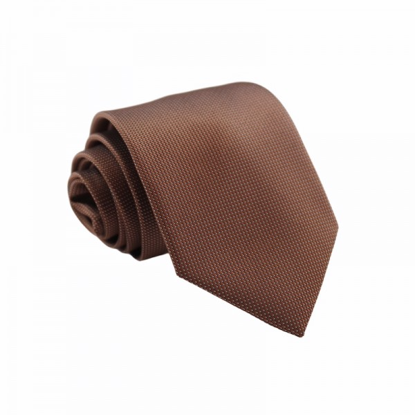 Γραβάτα Ανοιχτό Καφέ 8εκ. Γραβάτες