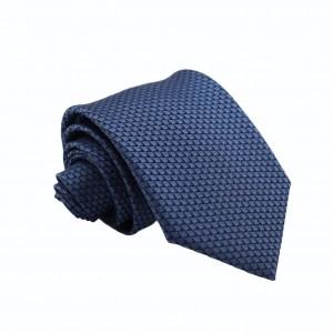 Γραβάτα Blue/ Blue black 8εκ.