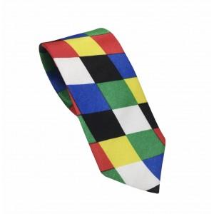 Αποκριάτικη Γραβάτα Πολύχρωμη 7.5εκ.