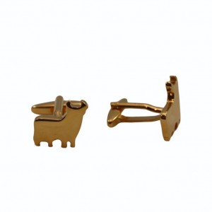 Μανικετόκουμπα Ταύρος Χρυσό Χρώμα