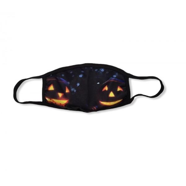 Μάσκα Halloween Two Pumpkins