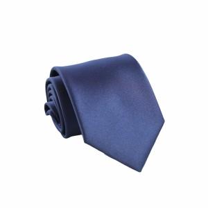 Γραβάτα Navy Μπλε Μονόχρωμη 8εκ.