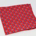 Μεταξωτό μαντήλι τσέπης Red Flowers