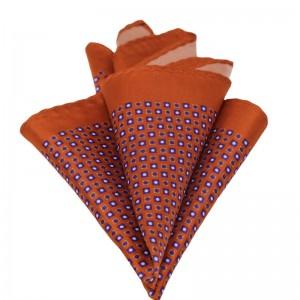Μεταξωτό μαντήλι τσέπης ταμπά
