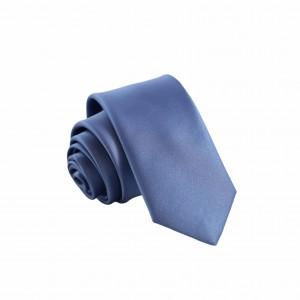 Γραβάτα Ανοιχτό Μπλε Μονόχρωμη Slim 6εκ.