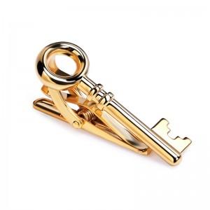 Κλειδί Χρυσαφί Κλιπ Γραβάτας