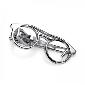 Γυαλιά Κλιπ Γραβάτας Ασημί