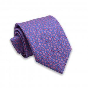 Γραβάτα Μπλε/Μωβ Floral 6εκ-8εκ.