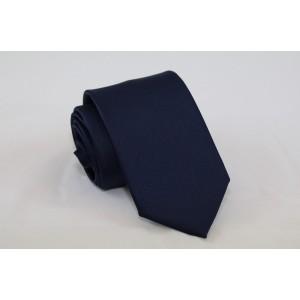 Γραβάτα Satin Σκούρο Μπλε 7.5εκ.