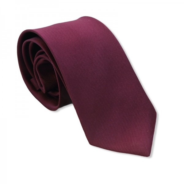Γραβάτα Office Bordeaux 7.5εκ. Γραβάτες Γραβάτες - erika.gr