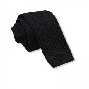 Πλεκτή Γραβάτα Μαύρη