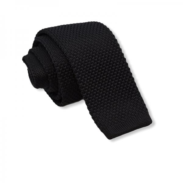 Πλεκτή Γραβάτα Μαύρη Γραβάτες Γραβάτες - erika.gr