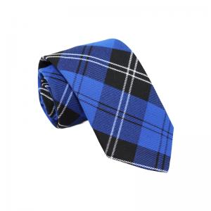Καρό Μπλε Γραβάτα