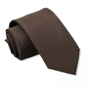 Γραβάτα Καφέ 7.5εκ.
