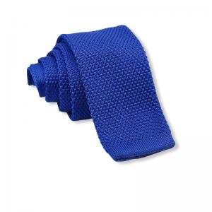 Πλεκτή Γραβάτα Royal Blue