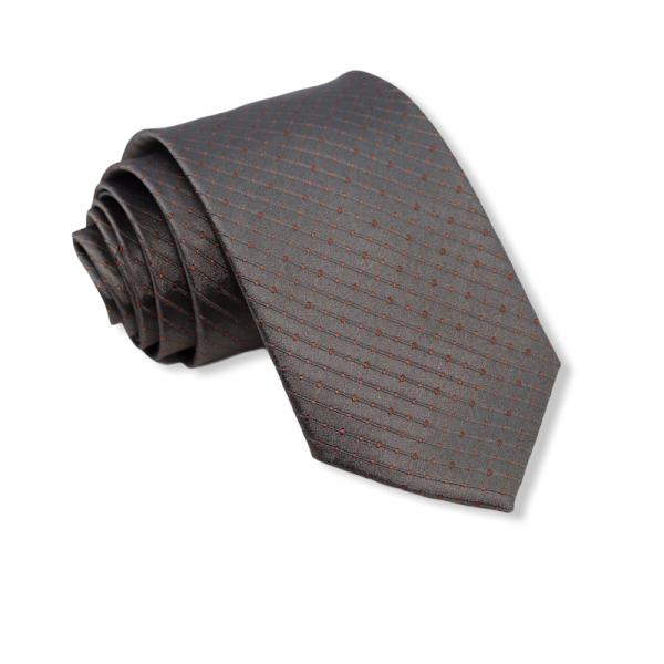 Μεταξωτή γραβάτα γκρι 8εκ. Γραβάτες Γραβάτες - erika.gr