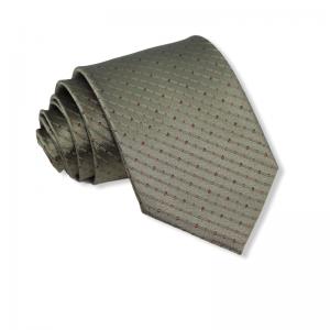 Μεταξωτή γραβάτα λαδί 8εκ.
