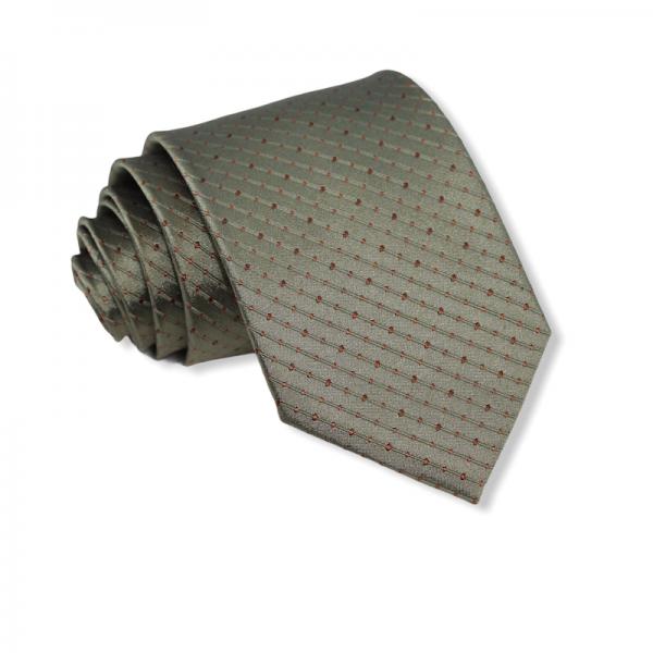 Μεταξωτή γραβάτα λαδί 8εκ.. Γραβάτες Γραβάτες - erika.gr