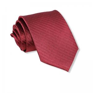Μεταξωτή γραβάτα μπορντό 8εκ.