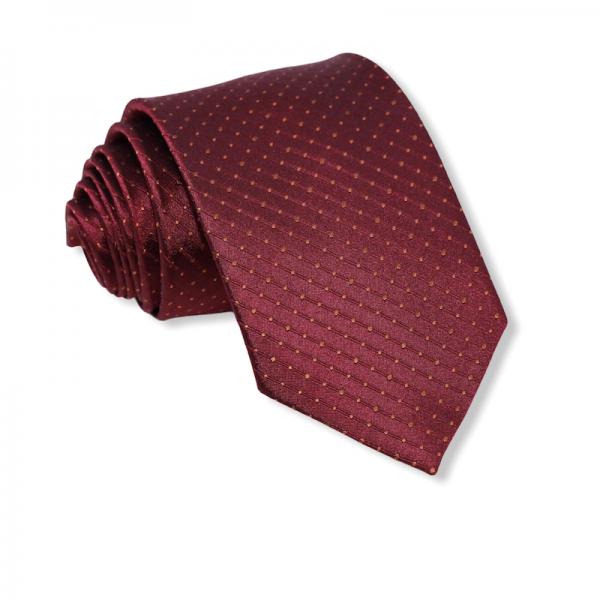 Μεταξωτή γραβάτα σκούρο μπορντό Γραβάτες Γραβάτες - erika.gr