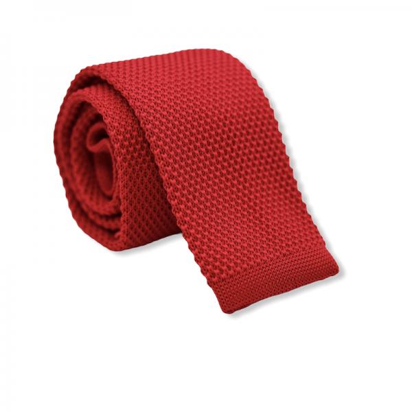 Πλεκτή Γραβάτα Κόκκινη Γραβάτες Γραβάτες - erika.gr