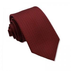 Μεταξωτή Γραβάτα Exclusive Red Rhombus 7.5εκ.