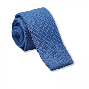 Πλεκτή Γραβάτα Γαλάζια