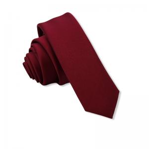 Γραβάτα Solid Bordeaux 4.5εκ.