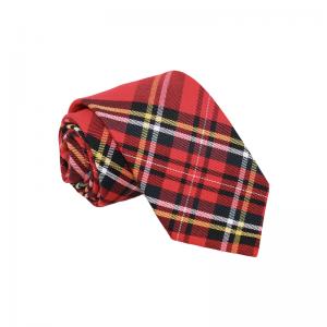 Καρό Κόκκινη Γραβάτα Classic