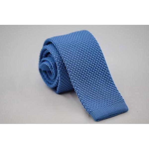 Πλεκτή Γραβάτα Γαλάζια Γραβάτες Γραβάτες - erika.gr
