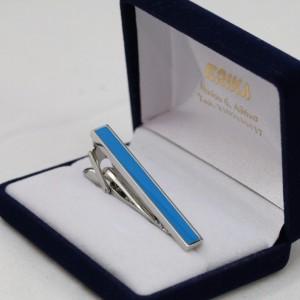 Γαλάζιο Κλιπ Γραβάτας