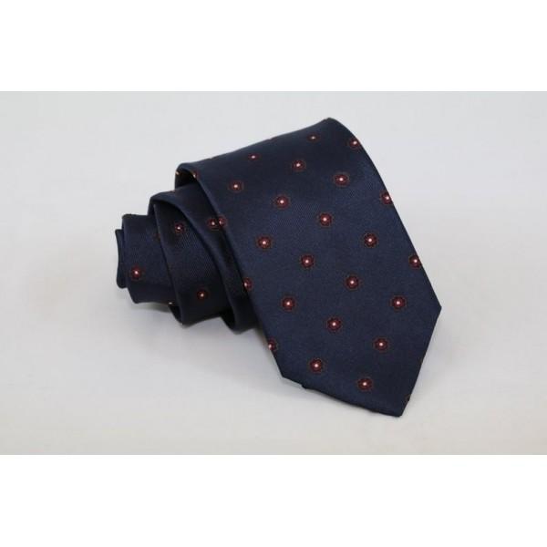 Silk blue necktie Neckties Γραβάτες - erika.gr