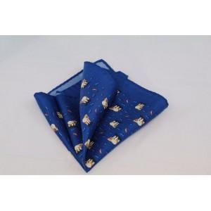 Μεταξωτό μαντήλι τσέπης Polar Bear
