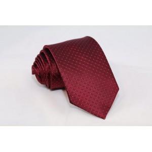 Μεταξωτή γραβάτα σκούρο μπορντό