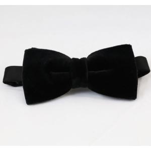 Μαύρο βελούδινο παπιγιόν