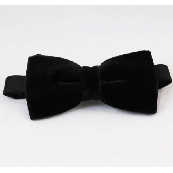 Μαύρο βελούδινο παπιγιόν  Παπιγιόν  Γραβάτες - erika.gr